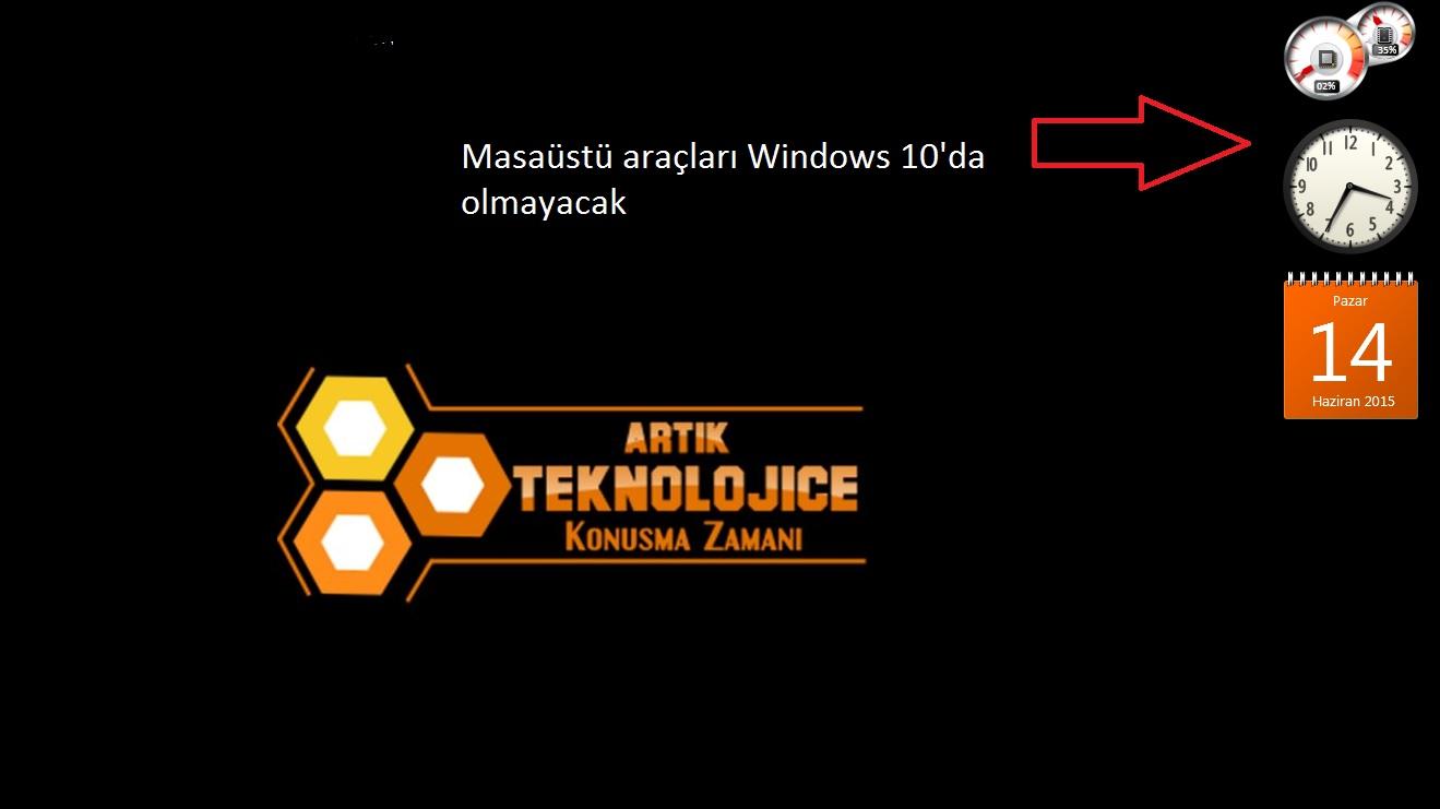Teknolojice-Windows10Arac