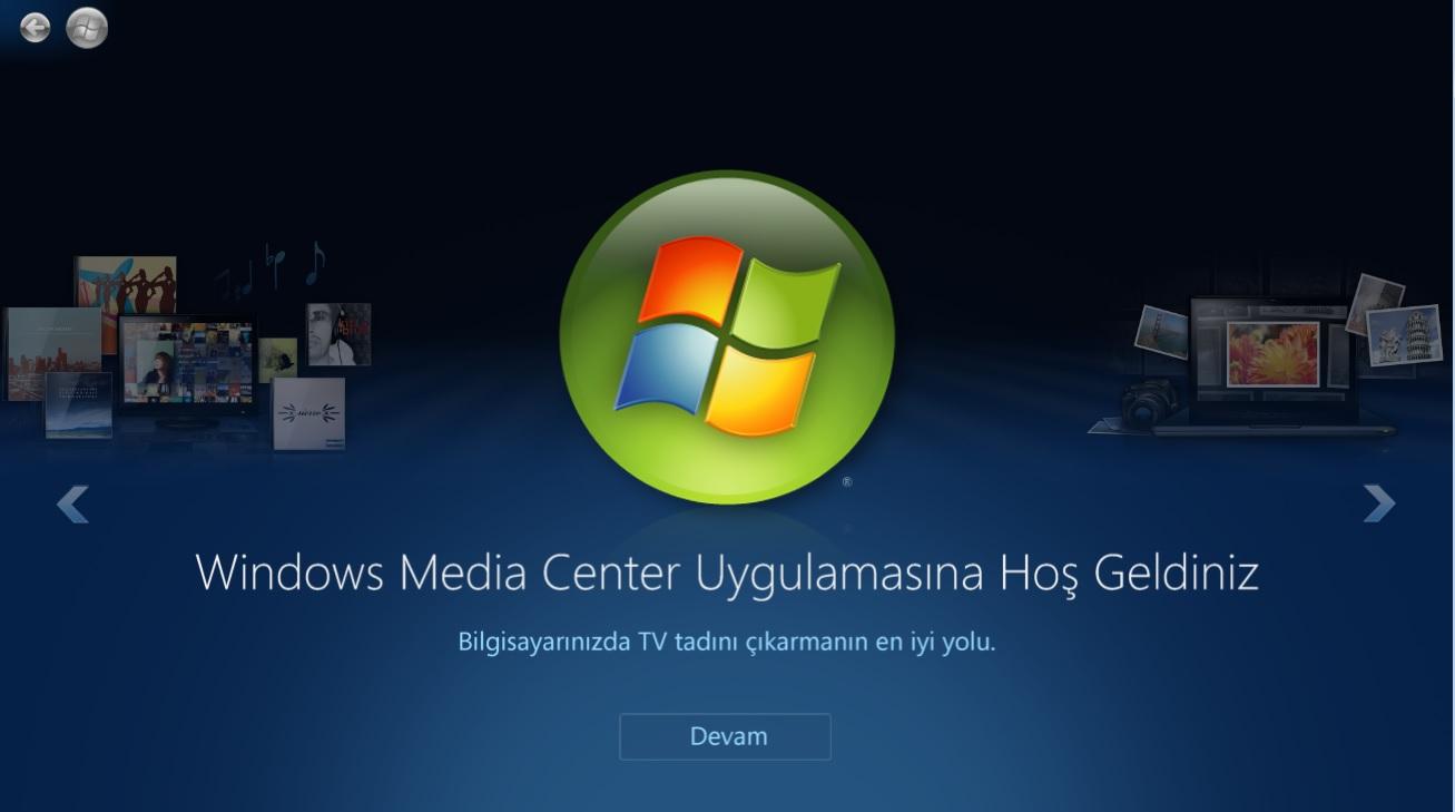 Teknolojice-WindowsmediaCenter
