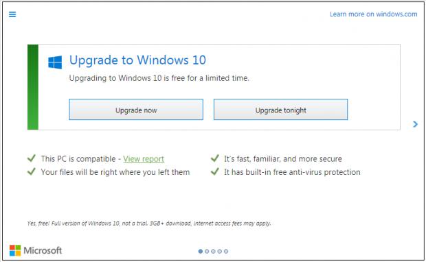 Teknolojice-Windows10Upgrade