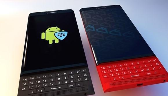 BlackBerry Priv klavye