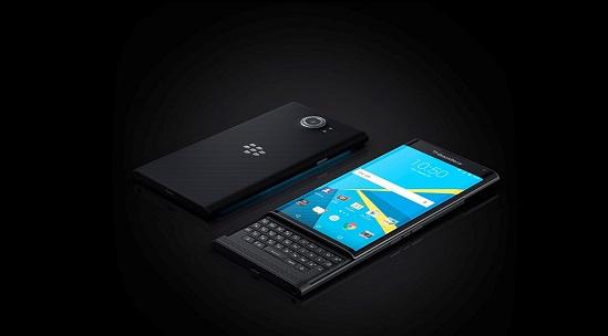 BlackBerry Priv tasarım