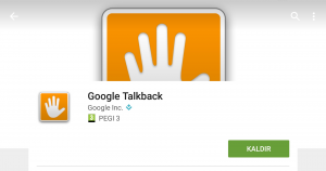 Google Talkback