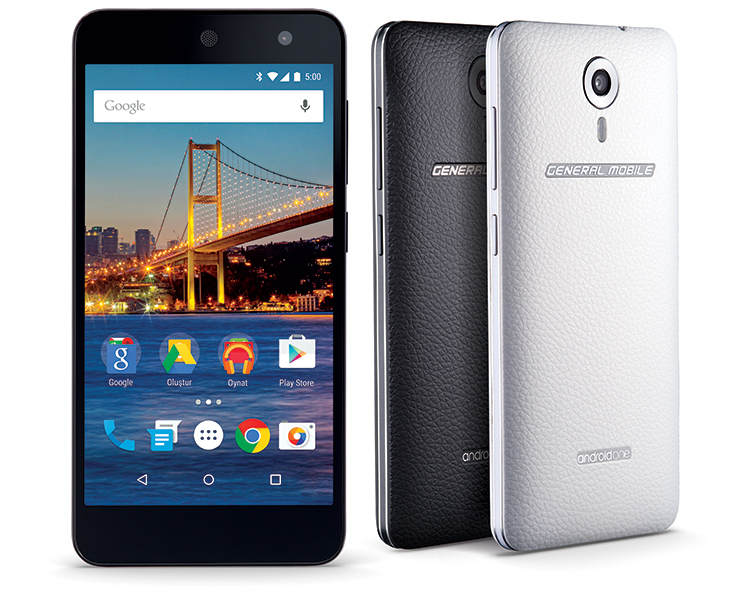 Android One,General Mobile 4G ile Geliyor