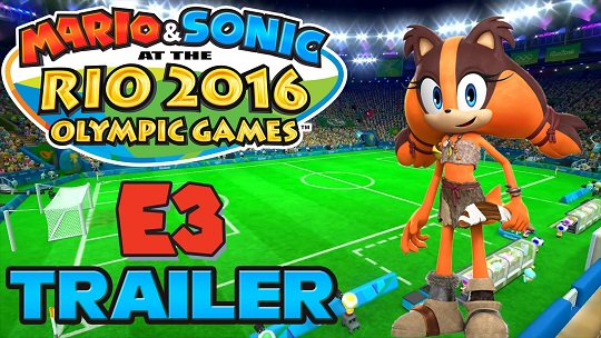 Teknolojice - Mario and Sonic at the Rio 2016 Olympic Games Duyuruldu