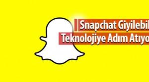 Snapchat Giyilebilir Teknolojiye Adım Atıyor!