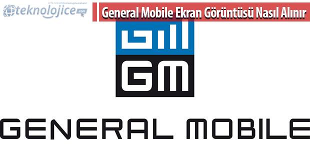 General Mobile Ekran görüntüsü