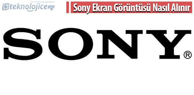 Sony Ekran Görüntüsü