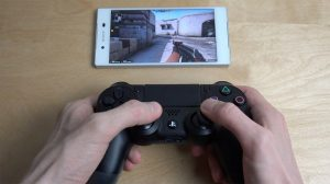 sony xperia z5 ve playstation 4