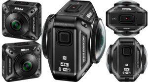 Aksiyon Kameralarında Yeni Bir Soluk Nikon KeyMission 360