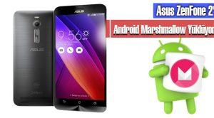 Asus ZenFone 2'ye Android Marshmallow Yüklemek