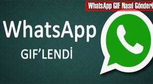WhatsApp GIF Nasıl Gönderilir?