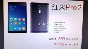 Xiaomi Redmi Pro 2 Özellikleri Sızdırıldı!