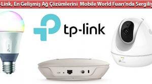 TP-Link, En Gelişmiş Ağ Çözümlerini  Mobile World Fuarı'nda Sergiliyor